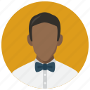 avatar, male, man, necktie icon