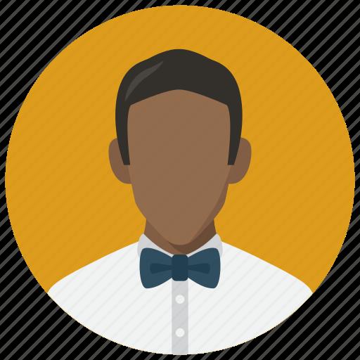 avatar, male, man, necktie icon