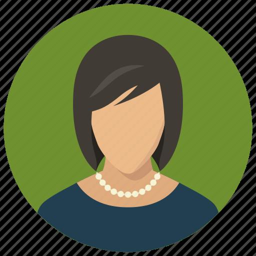 avatar, clothes, fashion, woman icon