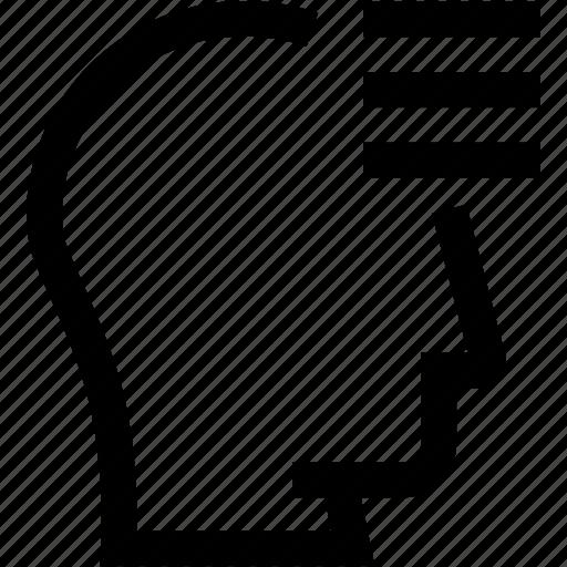 avatar, edit, head, profile, settings, silhouette icon