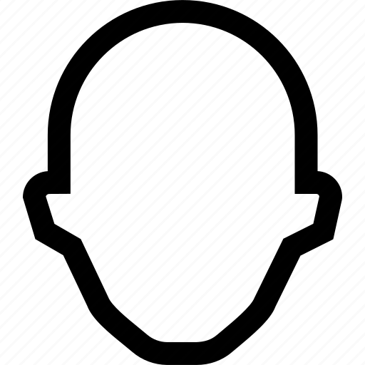 colleague, employee, empty, face, profile icon