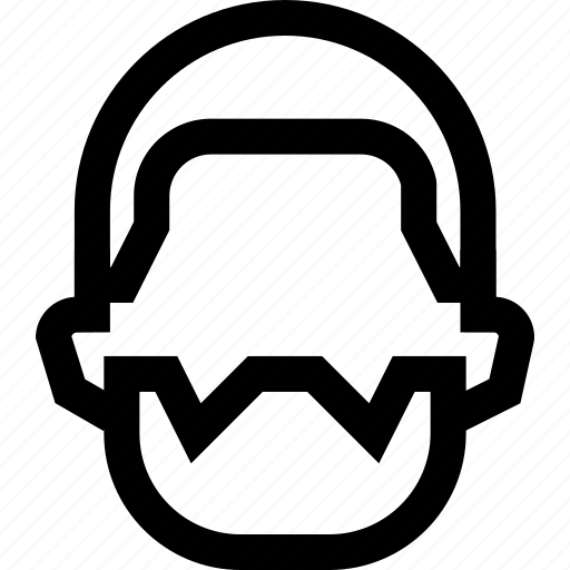 beard, colleague, employee, face, long, male, man icon
