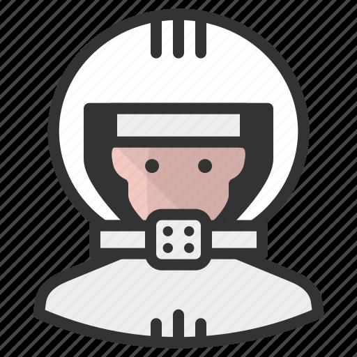 astronaut, avatar, avatars, man icon