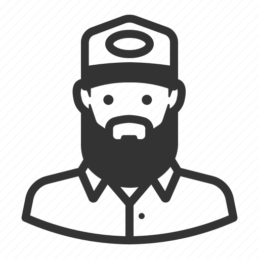 Avatar, beard, hipster, man, avatars icon - Download on Iconfinder