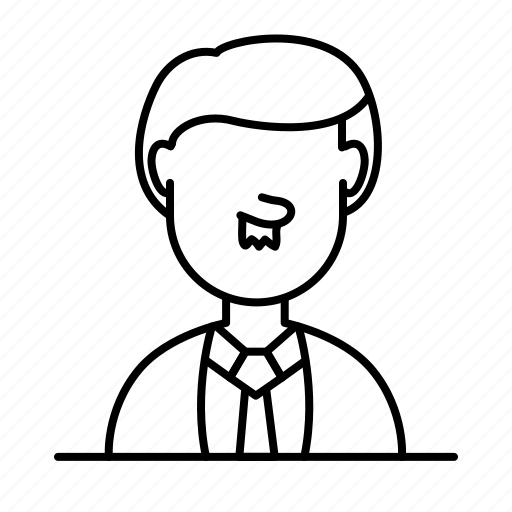 avatar, costume, male, moustache, person, tuxedo, user icon