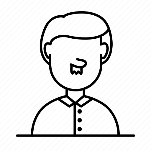Avatar, casual, male, man, moustache, person, user icon - Download on Iconfinder