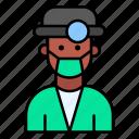 doctor, surgeon, dentist, dental, care, male icon
