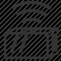 aircraft, aviation, beacon, black box, cvr, fdr, flight recorder icon