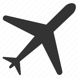 aircraft, airplane, airport, arrivals, departures, flight, plane icon