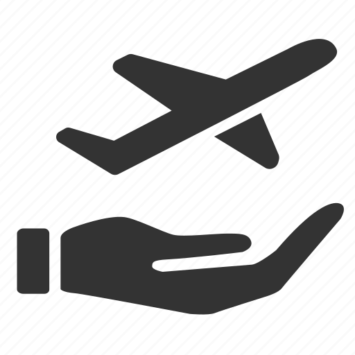 flight, manage my booking, protection, safe, transportation, travel, travel insurance icon