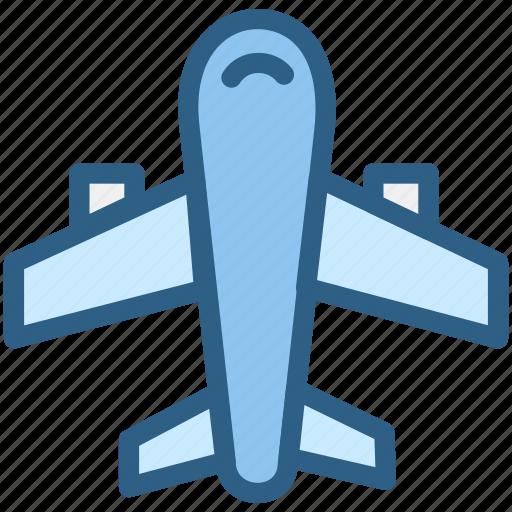 aeroplane, aircraft, airport, aviation, plane icon
