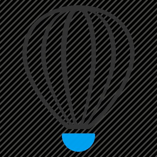 aerostat, air, airship, balloon, baloon, flight, fly icon