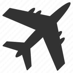aircraft, airplane, airport, cargo plane, delivery, flight, transportation icon