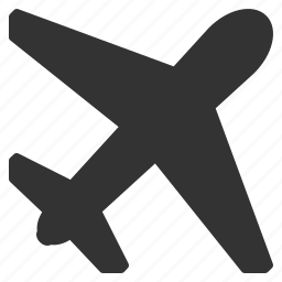 aircraft, airplane, airport, flight, fly, transport, travel icon