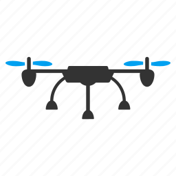 air drones, airdrone, flying drone, quad copter, quadcopter, radio control uav, unmanned aerial vehicle icon