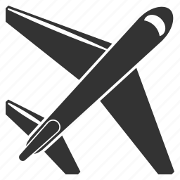 airplane, flight, jet, plane, transport, transportation, travel icon