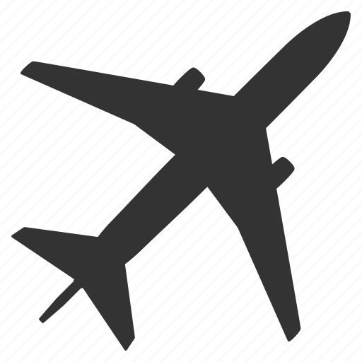 airplane, flight, fly, jet, plane, shipping, transportation icon