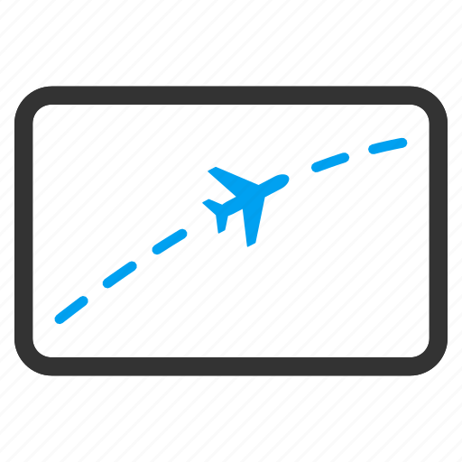 Path, course, direction, flight route, navigation, travel, way icon - Download on Iconfinder