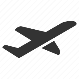 airplane, departure, emigration, flight, start, take off, takeoff icon