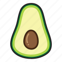 avocado, food, fruit, cooking, healthy, vegetable, kitchen