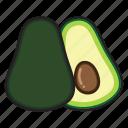 avocado, food, fruit, cooking, healthy, vegetable, kitchen