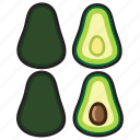 avocado, food, fruit, healthy, vegetable, kitchen, cooking