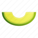 avocado, food, fruit, nature, piece, tropical