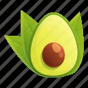 avocado, food, hand, tree