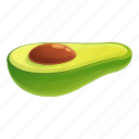 avocado, couple, exotic, food, half, love