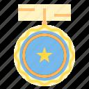 trophy, winner, medal, award