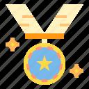 award, medal, trophy, winner