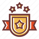 achievement, award, award trophy, banner, shield, trophy, trophy reward icon