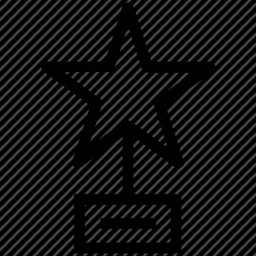 award, badge, bravery award, rank, reward, star icon