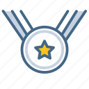 award, champion, medal, prize, reward icon