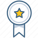 award, badge, prize, reward icon