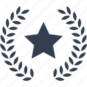 star, ribbon, award