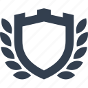 award, protection, safety, secure, security, shield, template icon