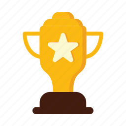 achievement, award, honor, medal, success, trophy, victory icon