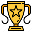 award, reward, star, trophy, winner icon