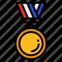 medal, ribbon, winner