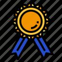 gold, prize, medal
