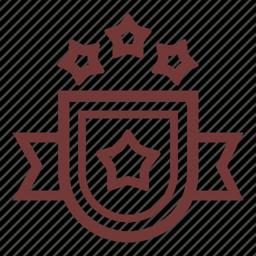 achievement, award, award trophy, banner, shield, trophy, trophy reward icon