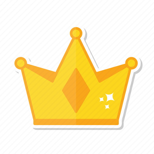 Crown, gold, king, queen icon - Download on Iconfinder