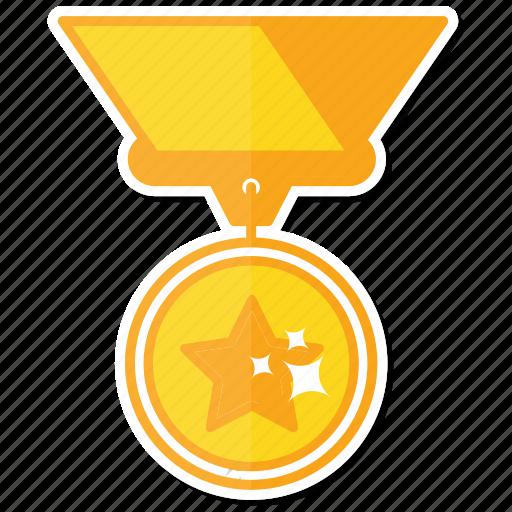 achievement, best, gold, medal, reward icon