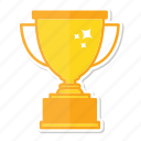 achievement, award, champion, cup, gold, success, trophy icon
