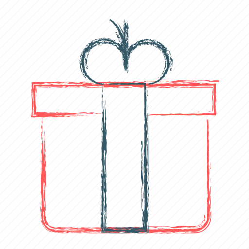 birthday, box, decoration, gift, ribbon icon