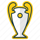 champions, cup, league, ligue, prize, trophy, winner icon