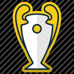 champions, cup, league, ligue, prize, trophy, winner icon