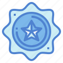 award, badge, emblem, medal