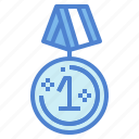competition, gold, medal, prize icon